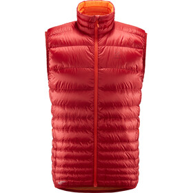 Haglöfs Essens Down Vest Men Rubin/Cayenne
